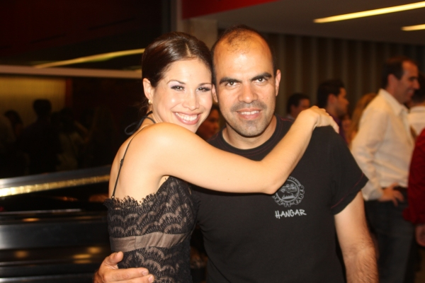 Bianca Marroquin and Luis Lojo