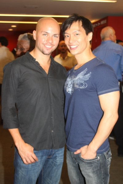 Eddie Bennett and Andrew Cheng