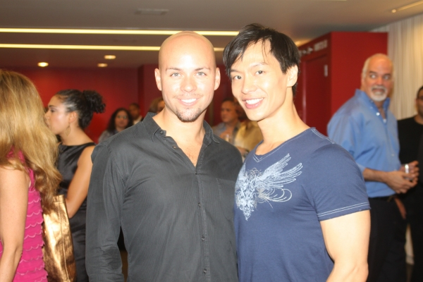 Eddie Bennett and Andrew Cheng Photo