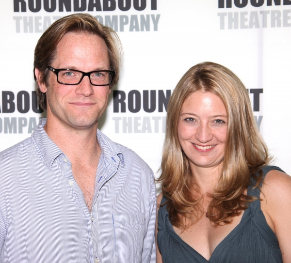 Matt Letscher and Heidi Schreck