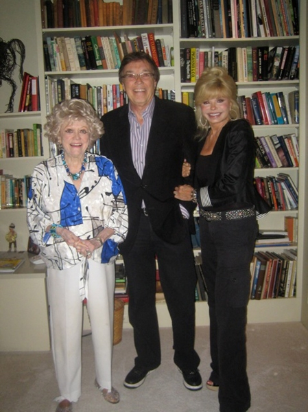 Phyllis Diller, Bob Flick and Loni Anderson