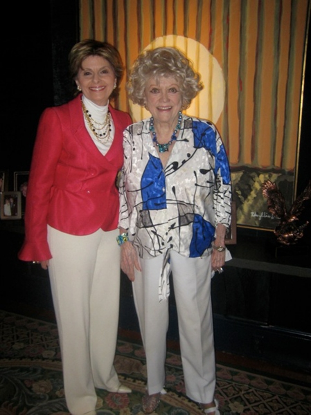 Gloria Allred and Phyllis Diller