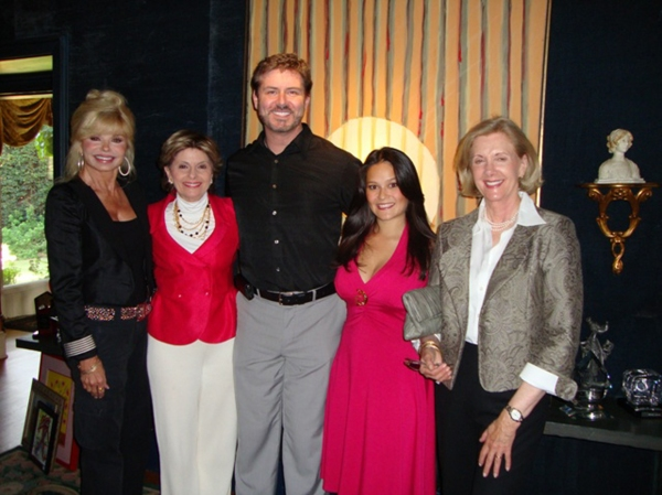 Loni Anderson, Gloria Allred, B. Harlan Boll, Romi Dames and Channing Chase