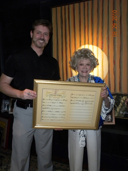 Photo Flash: A DAY AT DILLER'S- Phyllis Diller Opens Up Her Estate