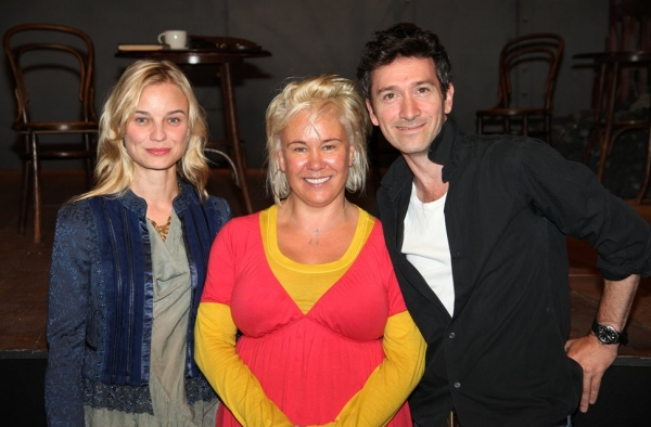 Hannah Yelland, Emma Rice & Tristan Sturrock