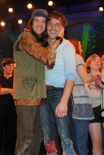 Andrew Kober & Kevin Kern at HAIR Closes in London