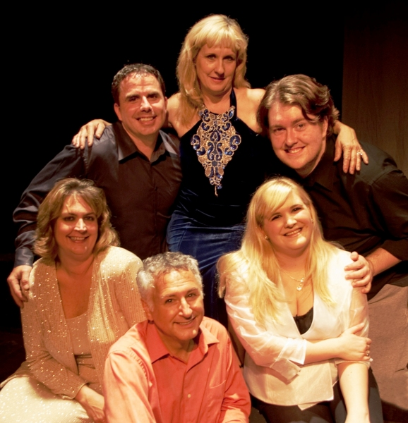 L-R Front: Lee Ann Scherlong, Keith Hershman, Deb Curtis; L-R Back: Kris Graves, Melinda Catherine- Gross, Michael Nicosia