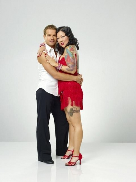 Margaret Cho and Louis Van Amstel at 'Dancing with the Stars' Reveals Portrait Photos