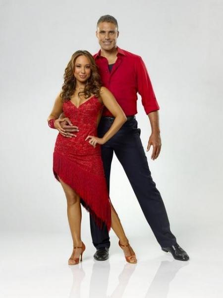 Rick Fox and Cheryl Burke