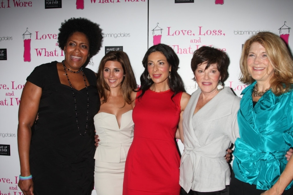 Nancy Giles, Jamie-Lynn Sigler, Stacy London, Helen Carey and Victoria Clark