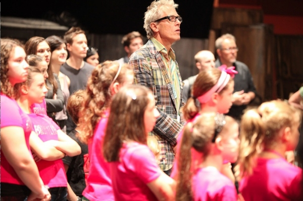 Associate director Julian Webber and BILLY ELLIOT Kids