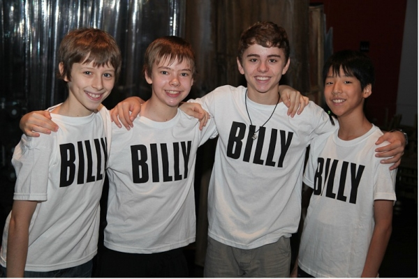 Photo Flash: Prince Begins BILLY ELLIOT Rehearsals in NYC!