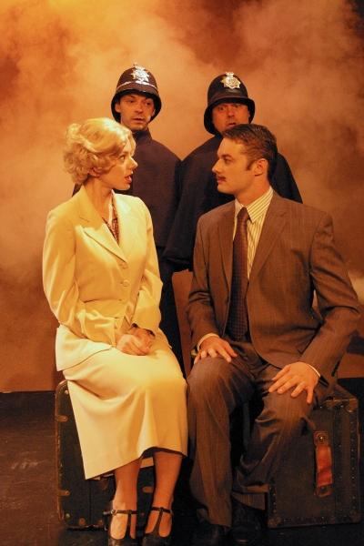 Deanna Gibson* (Pamela), Spencer Plachy* (Richard Hannay), Brad DePlanche* (Clown 1), Photo