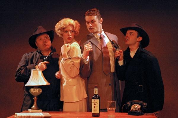 Brad DePlanche* (Clown 1), Deanna Gibson* (Pamela), Spencer Plachy* (Richard Hannay), Photo