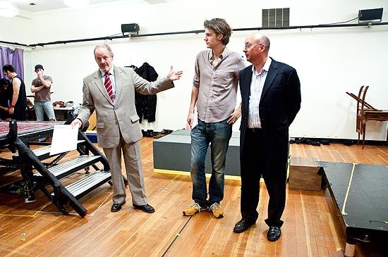 Jeffery Richards, Alex Timbers & Jerry Frankel  Photo