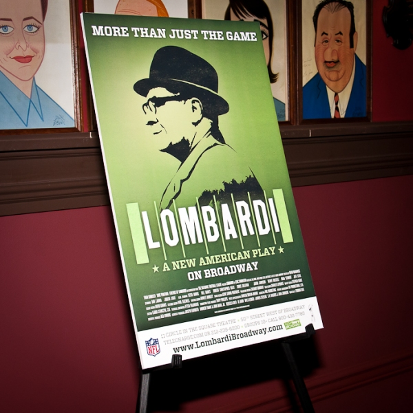 Photo Coverage: LOMBARDI Meets the Press