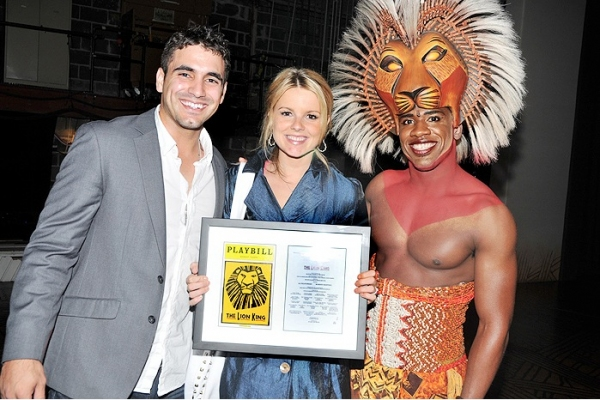 Photo Flash: Bachelorette Ali Visits THE LION KING
