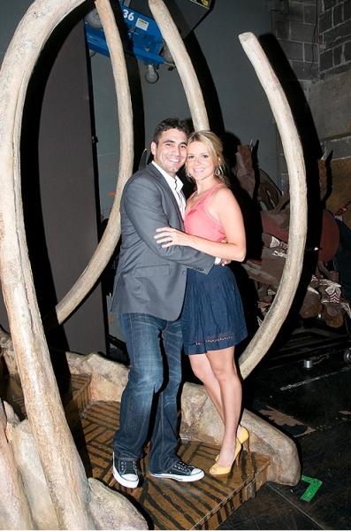 Ali Fedotowsky and fiance Roberto Martine Photo