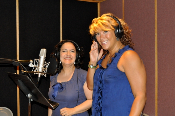 Olga Merediz and Doreen Montalvo at IN THE HEIGHTS Sings 'Carols For A Cure'