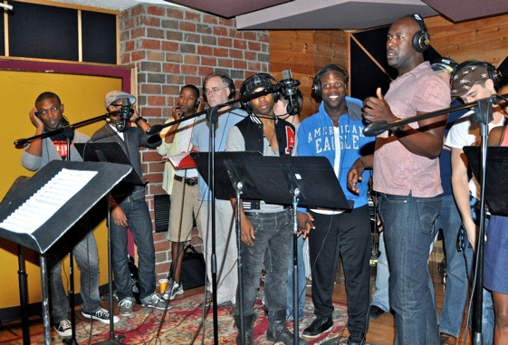 Photo Coverage: MEMPHIS Records for 'Carols For A Cure'