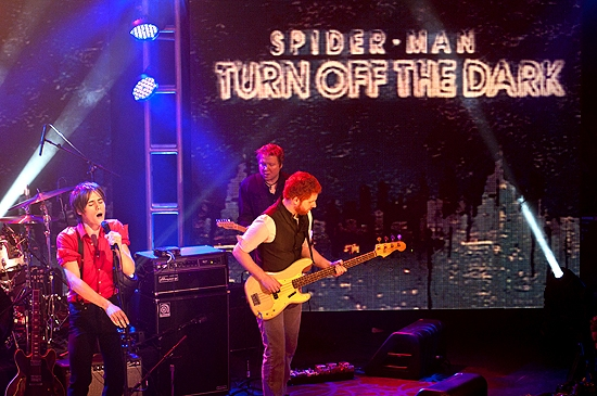 Photo Coverage: Carney Introduces SPIDER-MAN on GMA!