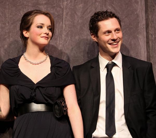 Allie MacDonald and Noah Reid