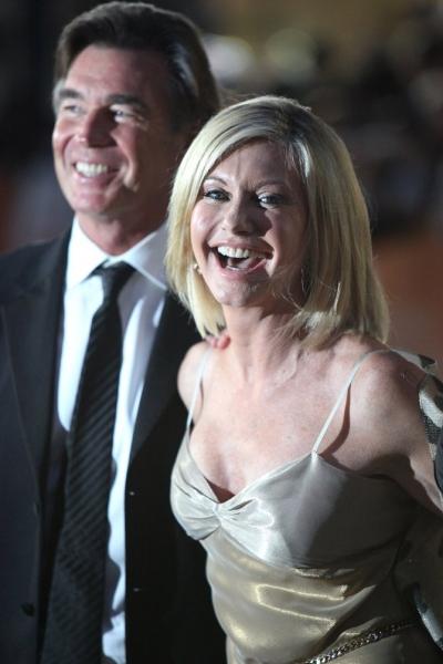 John Easterling & Olivia Newton-John  at Toronto International Film Fest. 'Score' Arrivals