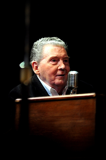 Photo Coverage: Jerry Lee Lewis Joins MILLION DOLLAR QUARTET