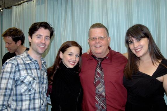 Peter Lockyer, Jessica Grov�'©, James Morgan and Elisa Spencer Kaplan (Managing Director)