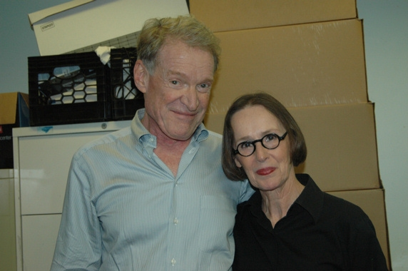 Charles Kinbrough and Susan Blommaert