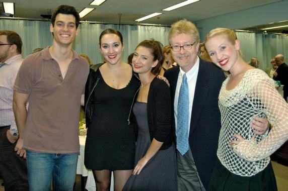 Robert Lenzi, Adriana McPhee, Julie Kotarides Mark D. Kaufmann and Michelle Lookadoo Photo