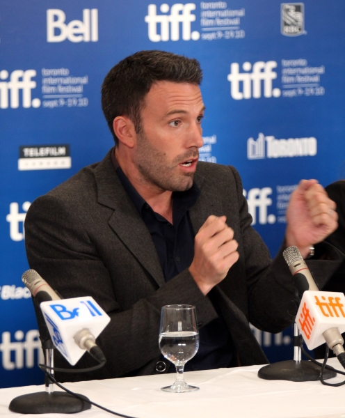 Ben Affleck at TOWN Press Conference