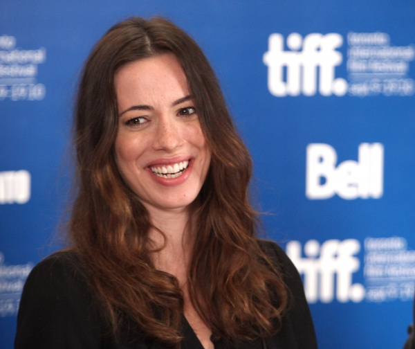 Rebecca Hall at TOWN Press Conference