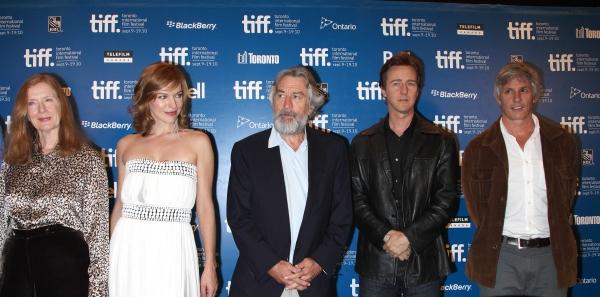 Frances Conroy, Milla Jovovich, Robert De Niro, Edward Norton & John Curran