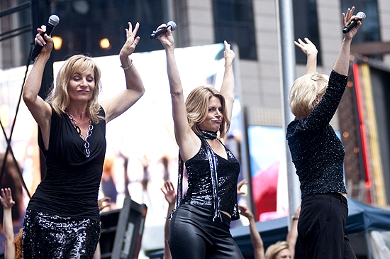 Judy McLane, Heidi Godt & Leah Zepel