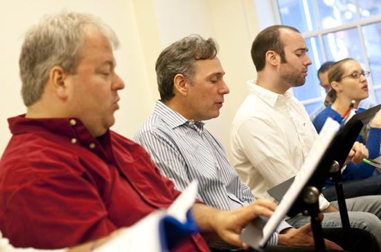 Eric Leviton, Kevin Pariseau, Tom Compton and Kelly Karbacz