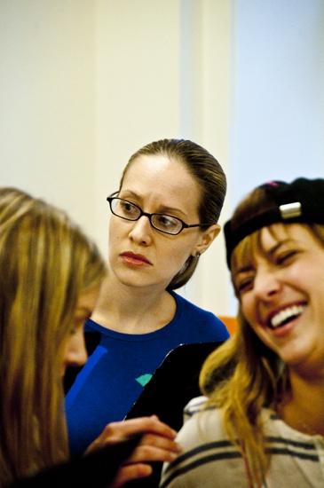 Corri English, Kelly Karbacz and Christine Lakin