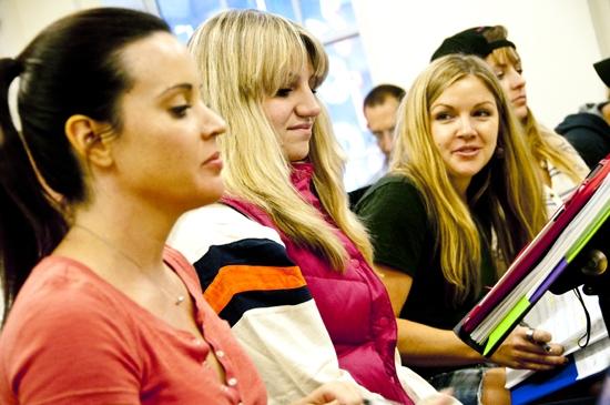 Jenna Leigh Green, Annaleigh Ashford, Corri English and Christine Lakin