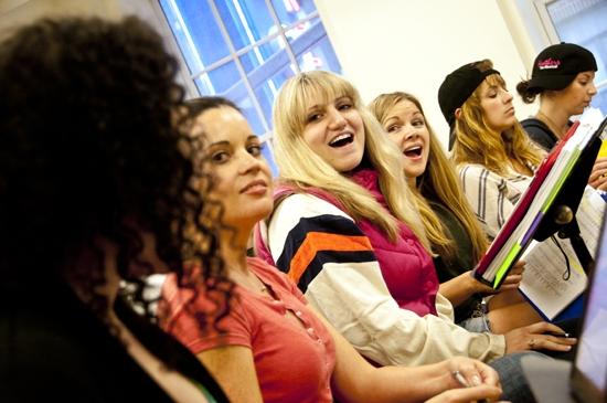 Julie Garnye, Jenna Leigh Green, Annaleigh Ashford, Corri English, Christine Lakin and Alex Ellis