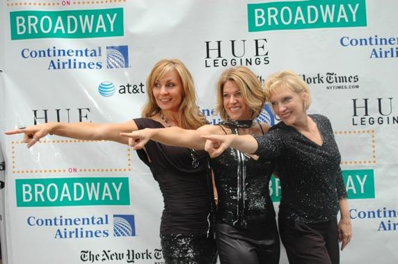Judy McLane, Heidi Godt and Stacia Fernandez-Mamma Mia