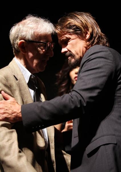 Woody Allen and Josh Brolin