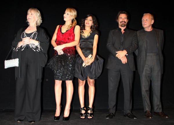 Gemma Jones, Lucy Punch, Freida Pinto, Josh Brolin and Anthony Hopkins