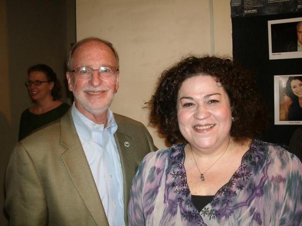 George Van Dusen and Cindy Gold