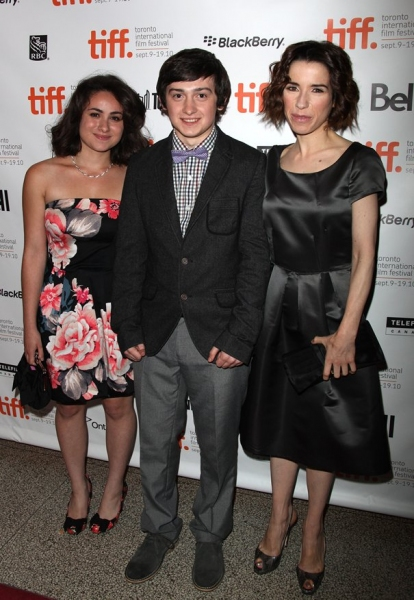 Yasmin Paige, Craig Roberts and Sally Hawkins