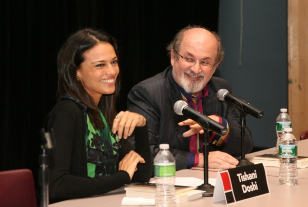 Salman Rushdie and Tishani Doshi at Brooklyn Book Festival Brings out Bibliophiles