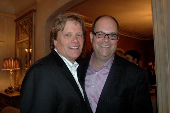 Dan Foster and Brad Oscar