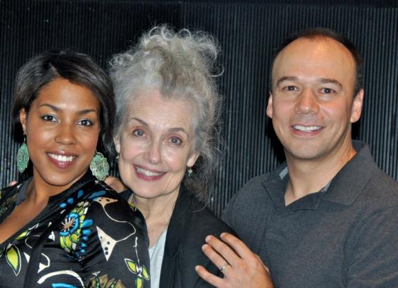 De'Andre Aziza, Mary Beth Piel and Danny Burstein