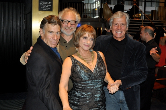 A reunion of The Baker's Wfie, Stephen Schwartx, Tim Jerome, Patti Lupone and Kurt Peterson