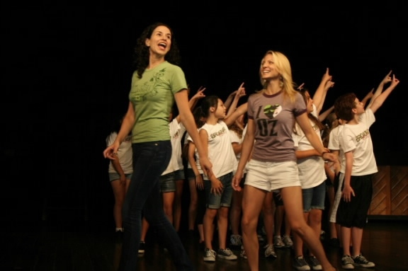 Photo Flash: WICKED Stars Perform With BROADWAY WORKSHOP Campers