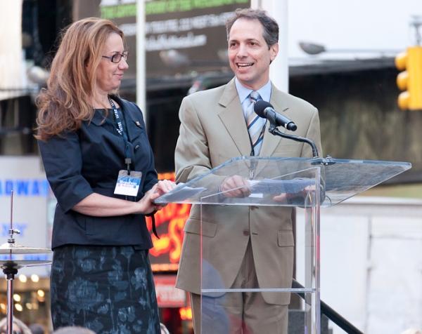 Laura Penn and Daniel Adamian